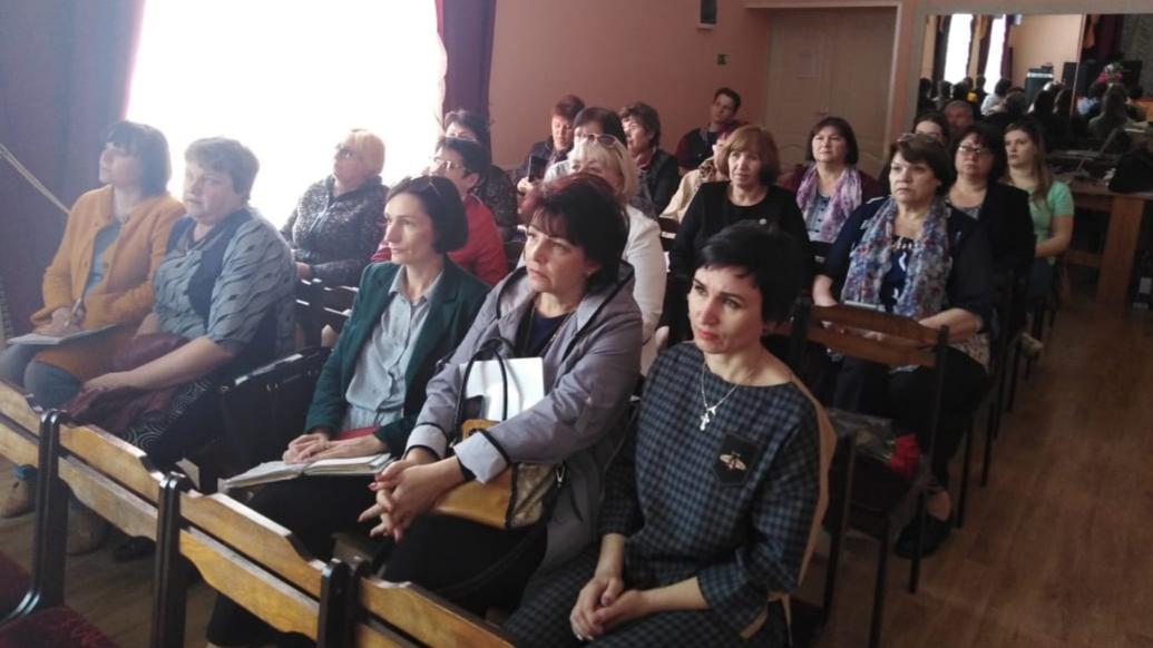 Общее дело на круглом столе с педагогами-психологами Тацинского района Ростовской области