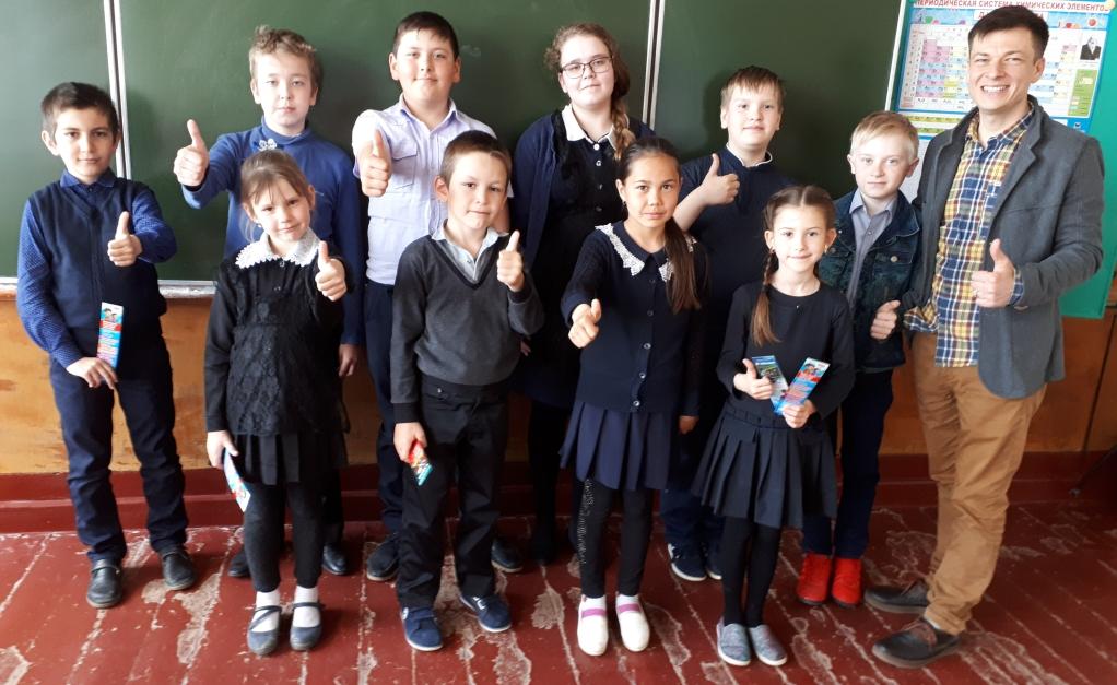 Общее дело в Авангардовской основной общеобразовательной школе Милютинского района Ростовской области