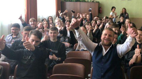 Общее дело в школе №3 города Цымлянска Ростовской области