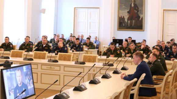 Общее дело на встрече в Военной академии материально-технического обеспечения им. генерала армии А.В. Хрулёва, Санкт-Петербург