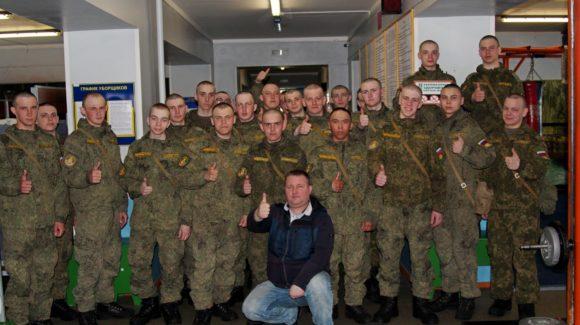 «Общее дело» на встрече с военнослужащими в/ч 25030-4 города Вилючинск Камчатского края