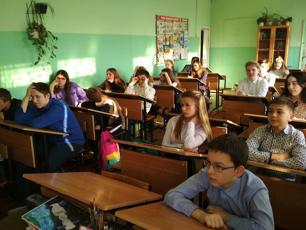 Общее дело в школе №19 города Кинешмы