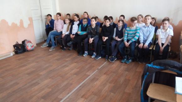 Общее дело в Лицее №8 города Волгограда