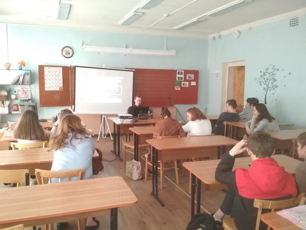 Общее дело в школе №2 города Кинешмы Ивановской области
