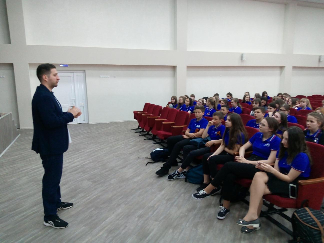 Общее дело в школе №45 города Ставрополя
