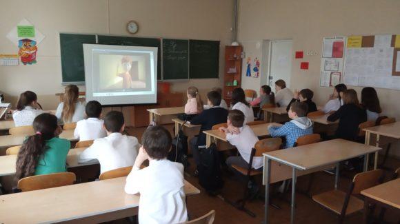 Общее дело в  школе №67 города Волгограда