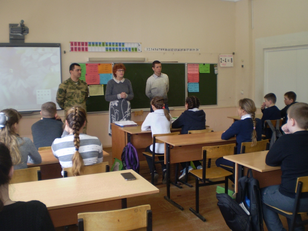 Общее дело совместно с Росгвардией и православными трезвенниками посетили школы Савинского района Ивановской области