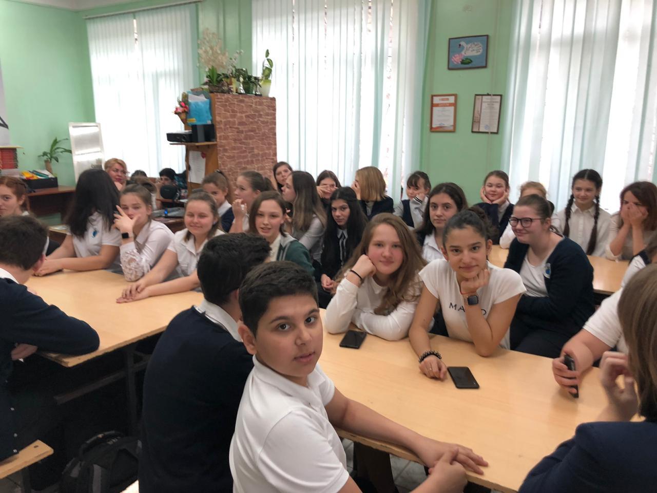 Общее дело в школе №14 города Сочи