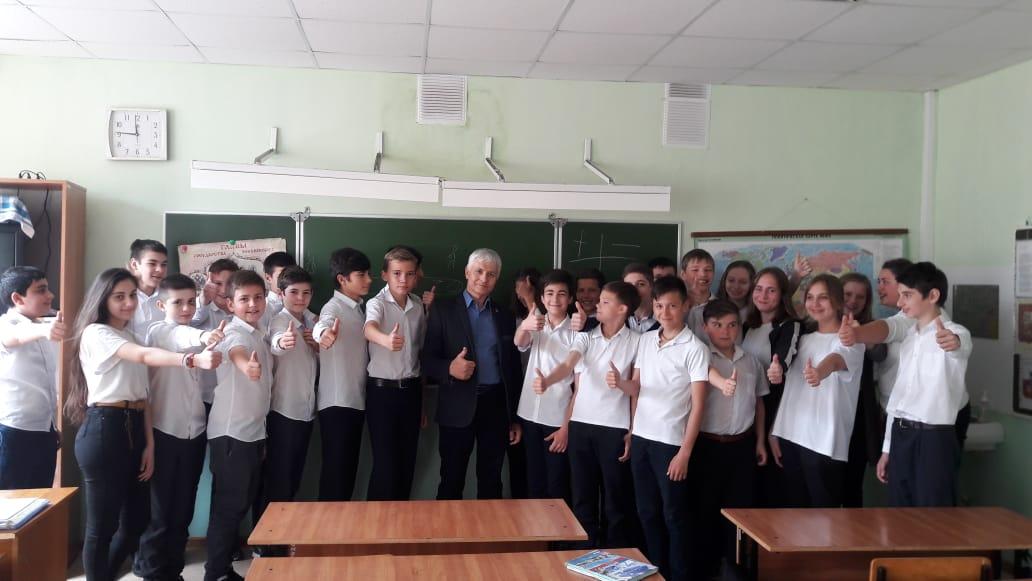 Общее дело в школах посёлка Дагомыс Краснодарского края