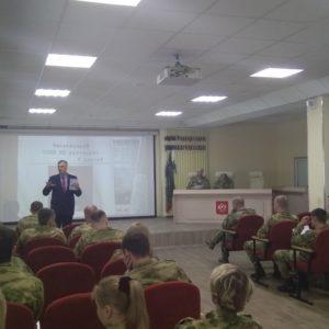 «Общее дело» в Спеццентре оперативной подготовки Росгвардии «Витязь».