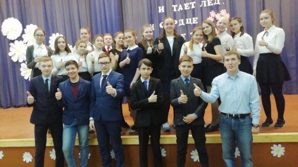 Лекция в средней школе №15 г. Зеленодольска