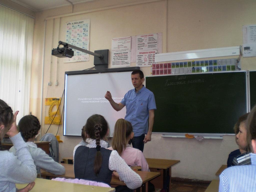 Общее дело в Кохомской школе №6