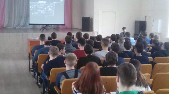 Лекции по профилактике курения в Казанском авиационно-техническом колледже