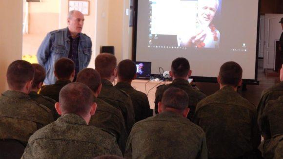 «Общее Дело»  с личным составом роты спец назначения  г. Железногорска
