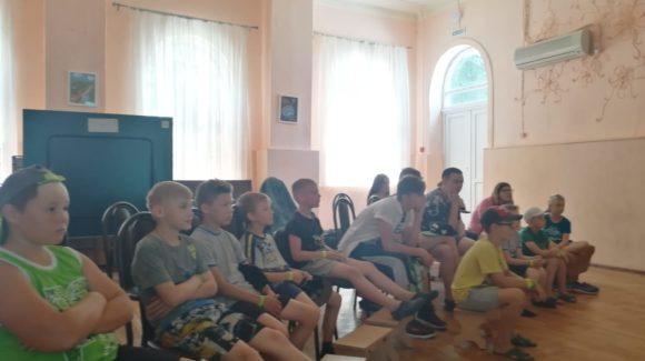 В Ростовском детском оздоровительном лагере «Золотой колос»