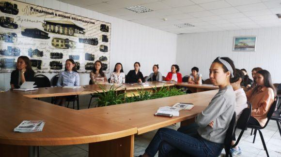 Семинар для молодых педагогов  сельскохозяйственном техникуме Якутска