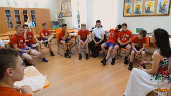Подготовка волонтеров в Пермском Суворовском училище