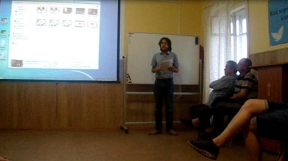 В городе Петрозаводске прошла очередная встреча в центре «Дом на Скале»