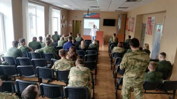 «Общее дело» провели встречу со служащими войсковой части 3734 национальной гвардии РФ