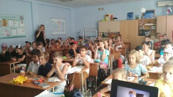 «Общее Дело» в летнем лагере МОБУ Гимназия 9 Сочи
