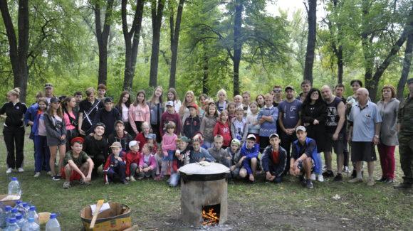 День дружбы в Ольхах города Стаханова Луганской Народной Республике