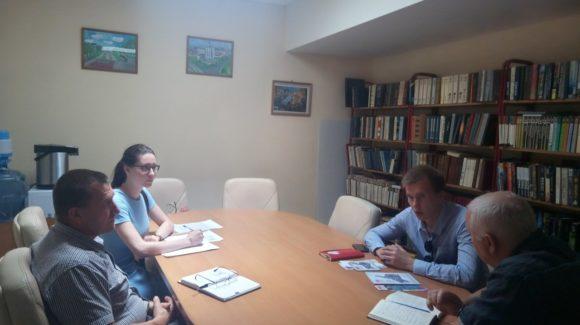 В центре состоялась рабочая встреча с руководителем Санкт-Петербургского отделения ООО » Общее Дело»