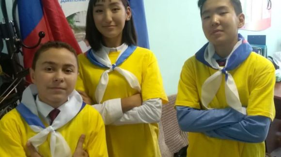 Юные волонтеры «Общего Дела» в республике Саха (Якутия)