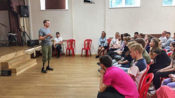 Российский паралимпиец Александров принял участие в социальном проекте