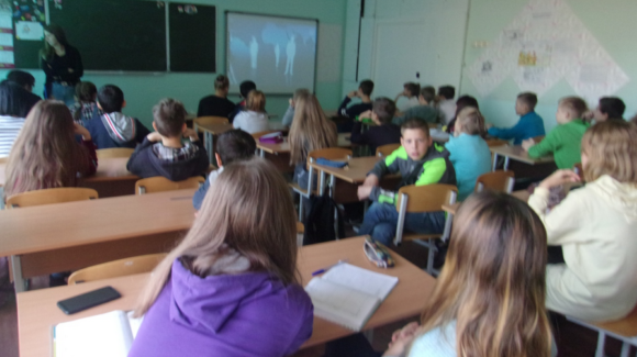 «Общее Дело» в школе №29 города Петрозаводска