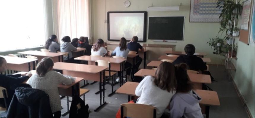 «Общее Дело» в школе №33 города Петрозаводска