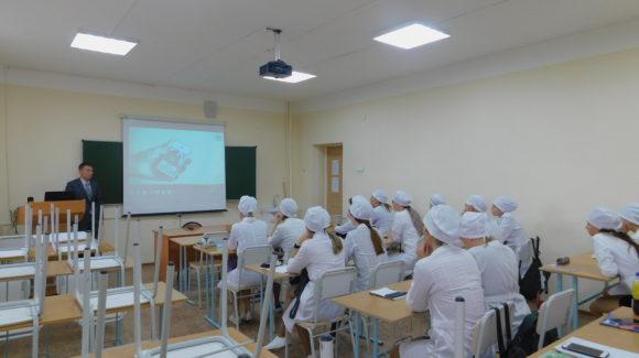 «Общее Дело» провело профилактическое мероприятие для студентов Сахалинского базового медицинского колледжа города Южно-Сахалинска.