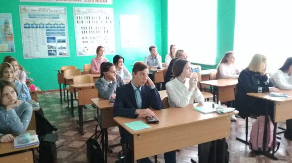 Очередное занятие «Общего Дела» в школе №18 города Кинешмы