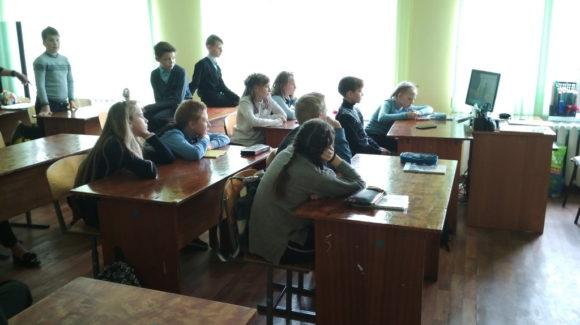 «Общее Дело» с программой в школе №17 города Кинешма