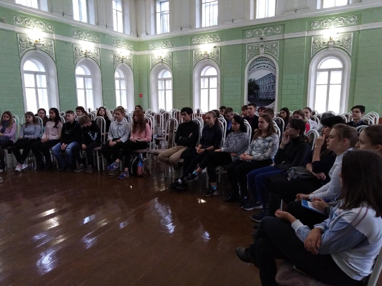 Прошло первое занятие для волонтеров Центрального коруга города Костромы