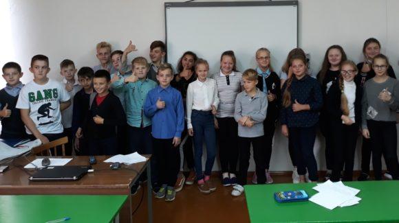 «Общее Дело» в школе села Васильевское Великоустюгского района