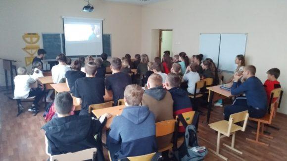 «Общее Дело» в школе Мичуринска