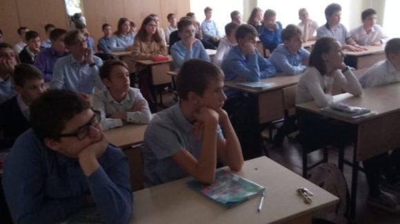 «Общее Дело» продолжает занятия в школе №92 города Ростова-на-Дону