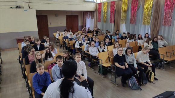Общее дело в школе №1 г.Новокуйбышевск, Самарская область