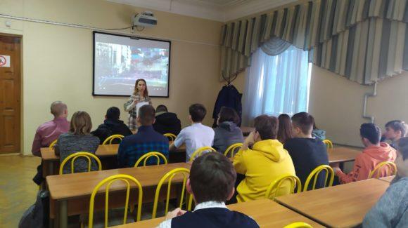 Встреча со студентами Монтажного техникума в Краснодаре