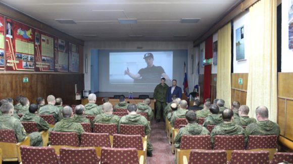 Продолжение занятий в войсковой части 25030-15 г.Вилючинск Камчатского края