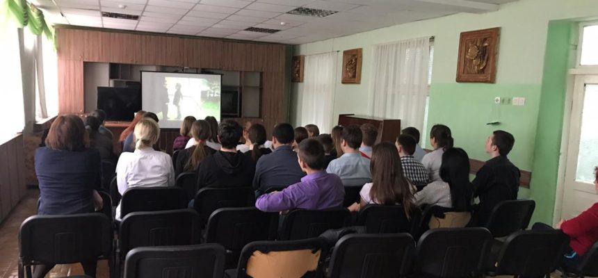 Профилактическое мероприятие с учениками областной школы-интерната санаторного типа г.Ростова-на-Дону