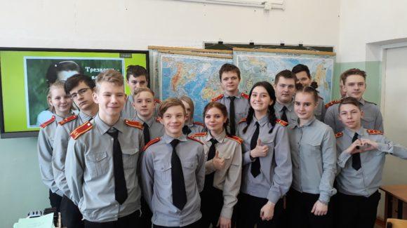 5 встреч «Общего Дела» с участием 103 человек в кадетской школе-интернате г.Рыбинска