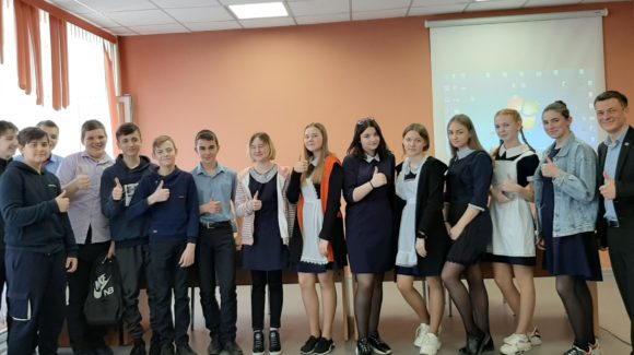 Профилактическое мероприятие с учениками 8а класса Милютинской СОШ