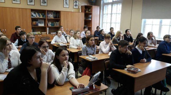 Семь встреч с ребятами средней школы №24 г.Рыбинска