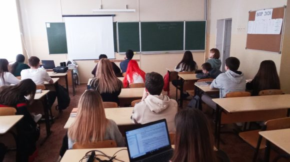 В средней школе №67 г.Волгограда прошло 5 профилактических уроков по материалам «Общего Дела»