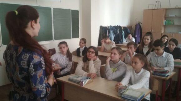 Ученики школы №43 Ростова-на-Дону посмотрели и обсудили с активистом «Общего Дела» фильм «4 ключа к твоим победам»