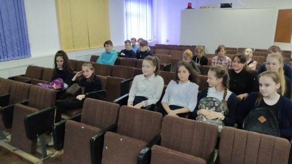 Встреча «Общего Дела» с учениками средней школы №2 г.Родники Ивановской области