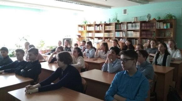 Три занятия по материалам «Общего Дела» в средней школе №8 г.Кинешма
