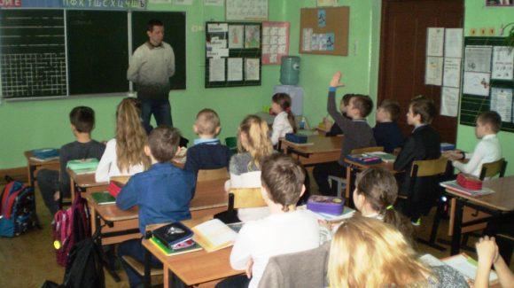Ивановское отделение ОО «Общее дело» продолжило проведение программ в ивановской средней школе №15
