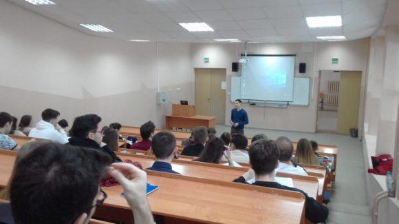 Лекция по нравственности в Казанском государственном архитектурно-строительном университете